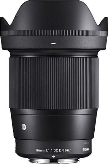 Sigma 16/1,4 DC DN Contemporary pre Sony E mount