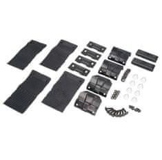 JOPE Montážny kit pätky, 4 ks, typ strechy: štandardná, pre vozidlá SAAB 9-5 (II) YS3G, 4 dv., 10-
