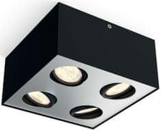 Philips Nastavitelné bodové svítidlo BOX LED, 4 žárovky
