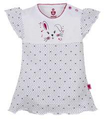 G-mini Dívčí body/šaty Zajíček