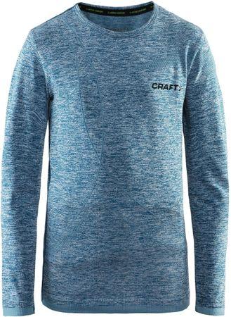 Craft koszulka dziecięca Active Comfort JR LS niebieska 158/164