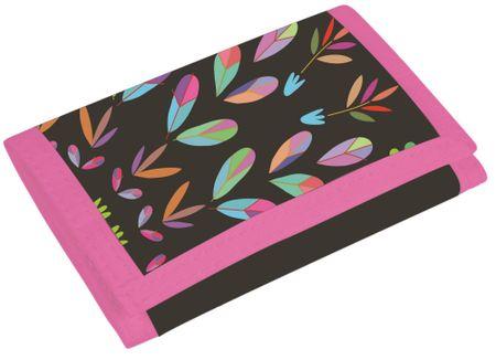 Karton P+P Virágos fashion gyerek pénztárca