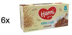Hami Mliečko s kašou kakaové - 6x (2x250 ml)