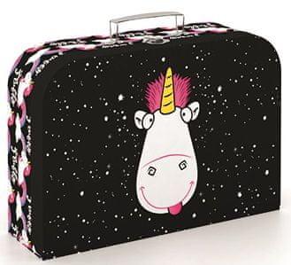 Karton P+P Despicable Me 3 Unicorn mintázatú bőrönd lamino 34 cm