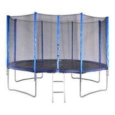Spartan trampolin + mreža + lestev, 396cm