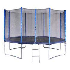 Spartan trampolin z mrežo in lestvijo, 366 cm