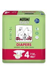 MUUMI BABY 4 Maxi (7-14 kg) 46 ks