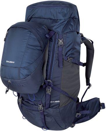 Husky plecak Limpet 70+10 niebieski