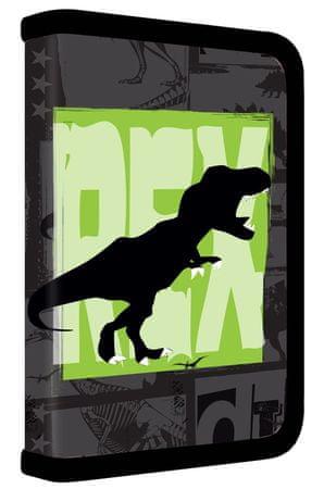 Karton P+P Iskolai tolltartó 1 részes T-rex teljesen felszerelt