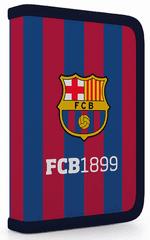 Karton P+P 1 részes tolltartó 2 kihajtható füllel FC Barcelona