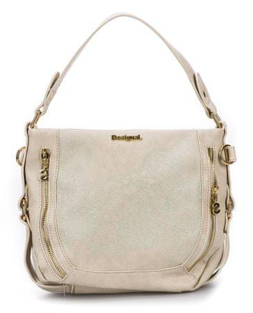 Desigual ženska torbica krem Zoe Marteta Mini
