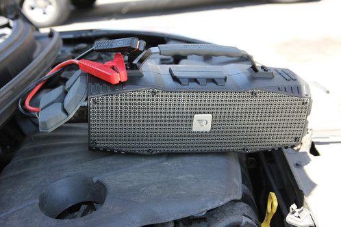 Bezdrátový bluetooth reproduktor DreamWave Survivor nouzový startér startovací kabely
