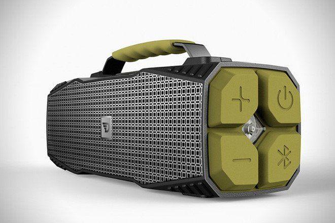 Bezdrátový bluetooth reproduktor DreamWave Survivor LED svítilna