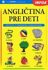 autor neuvedený: Angličtina pre deti – zošit s farebnými samolepkami