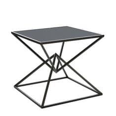 Papillon Konferenční stolek skleněný Diamond, 50 cm