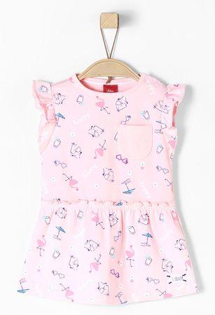 s.Oliver lány ruha 74 rózsaszín