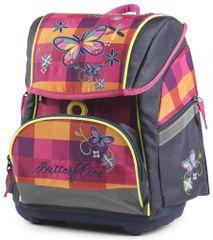 Karton P+P anatomski školski ruksak Premium Flexi Leptir