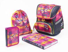 Karton P+P Školní set Premium FLEXI Motýl