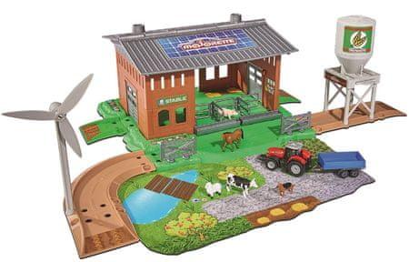 Majorette Creatix Stáj s traktorem