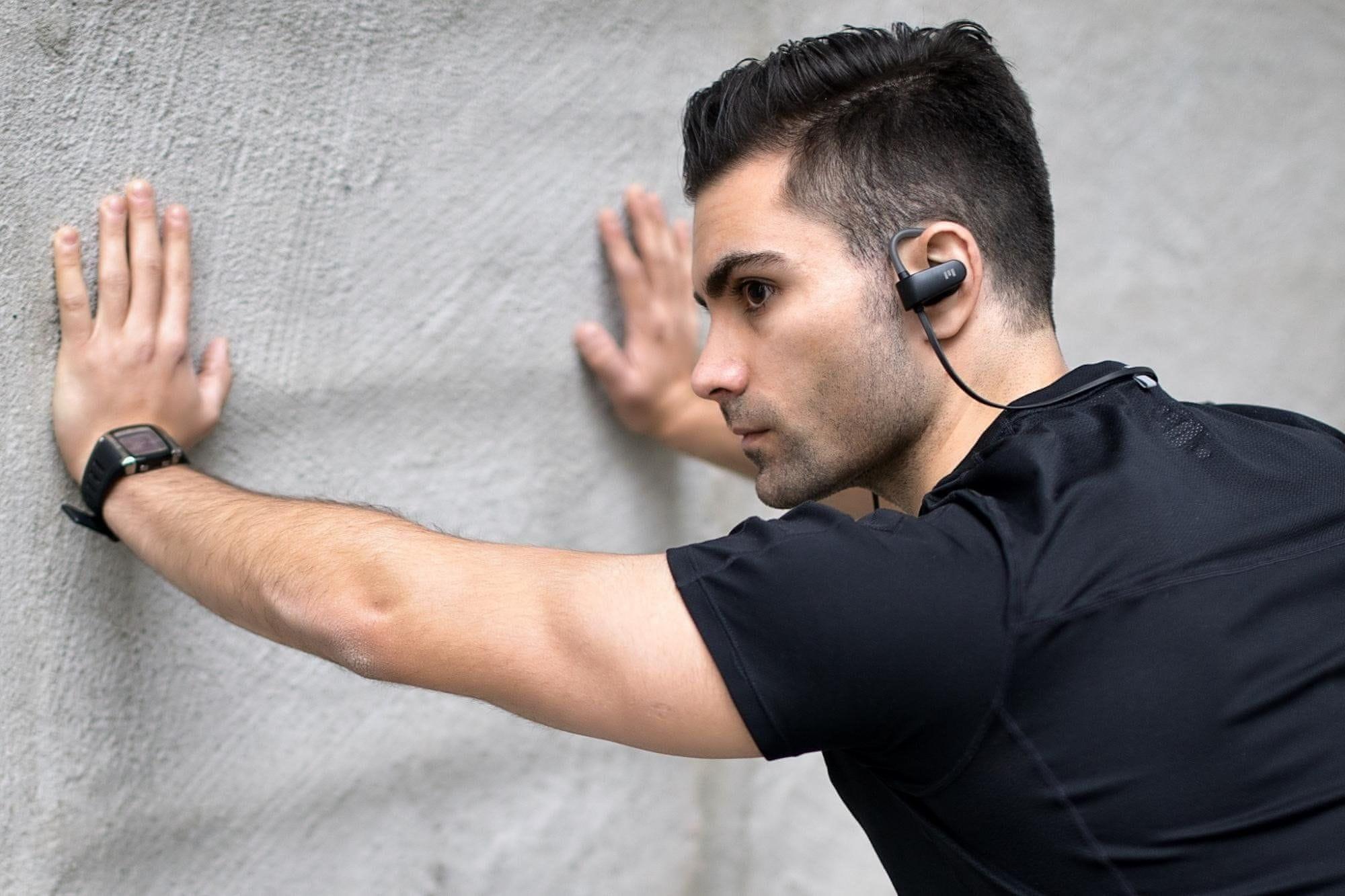 Bezdrátová sluchátka Miiego M1 skladné voděodolné pouzdro