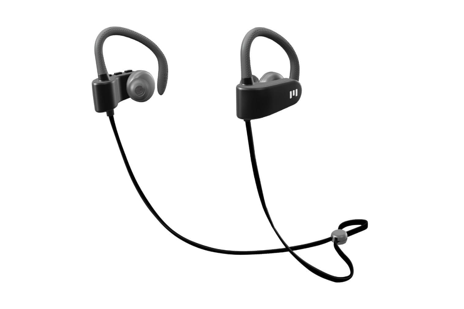 Bezdrátová sluchátka Miiego M1 nastavitelná délka týlní šňůrky