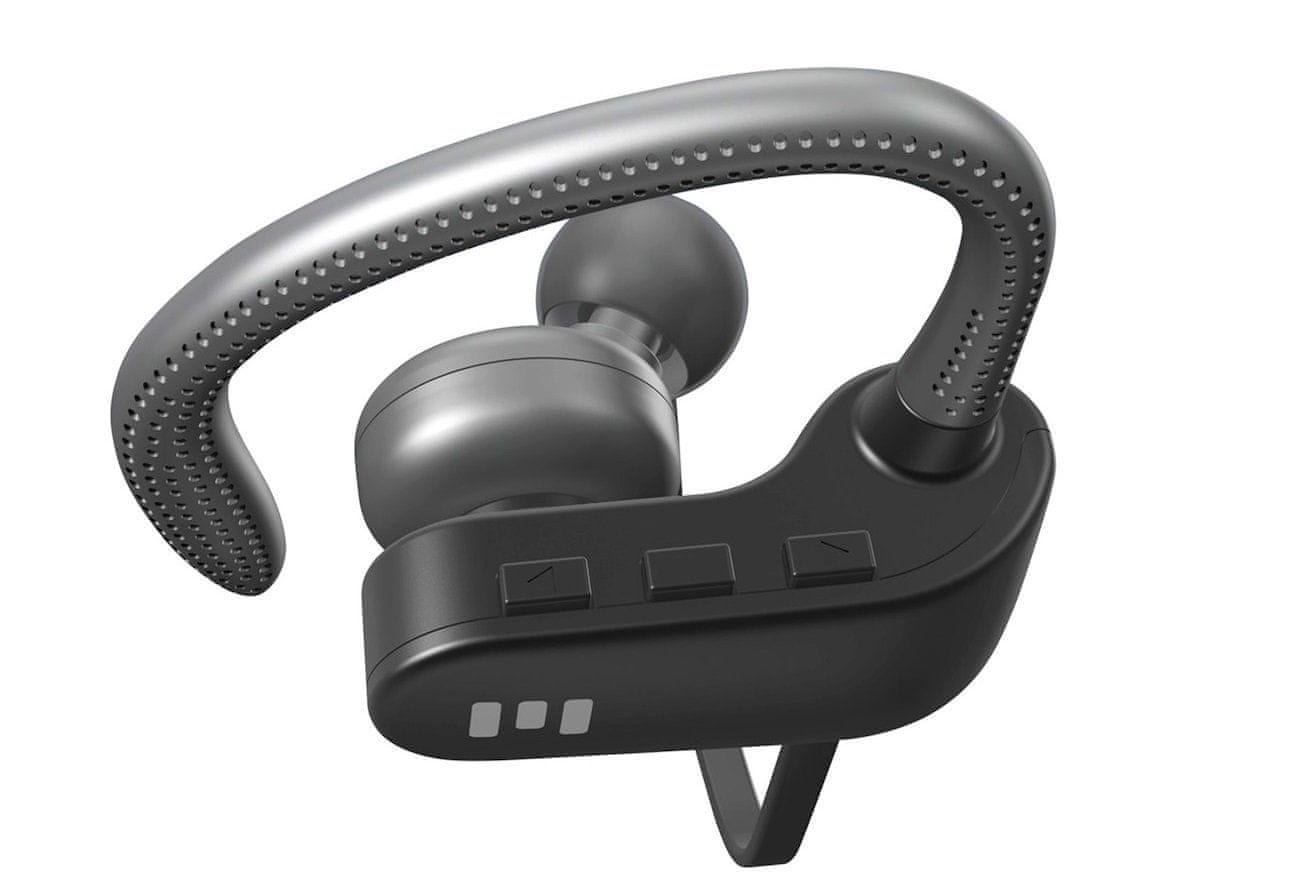 Bezdrátová sluchátka Miiego M1 Bluetooth připojení ovládání na sluchátkách mikrofon 8 h poslechu hudby