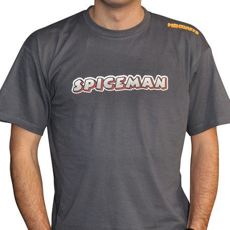 Mikbaits Pánské tričko Spiceman - šedé XXL