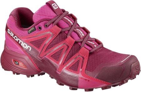 Salomon ženski športni čevlji Speedcross Vario 2 Gtx W Cerise/Be 39.3 (6UK), roza