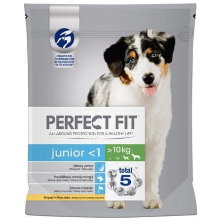 Perfect fit Dog granule Junior kuřecí M/L 1,4 kg