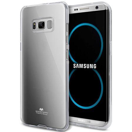 Goospery tanek silikonski ovitek Jelly za Samsung Galaxy S9 G960, prozoren