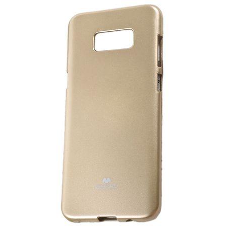 Goospery tanek silikonski ovitek Jelly za Samsung Galaxy S9 Plus G965, zlat