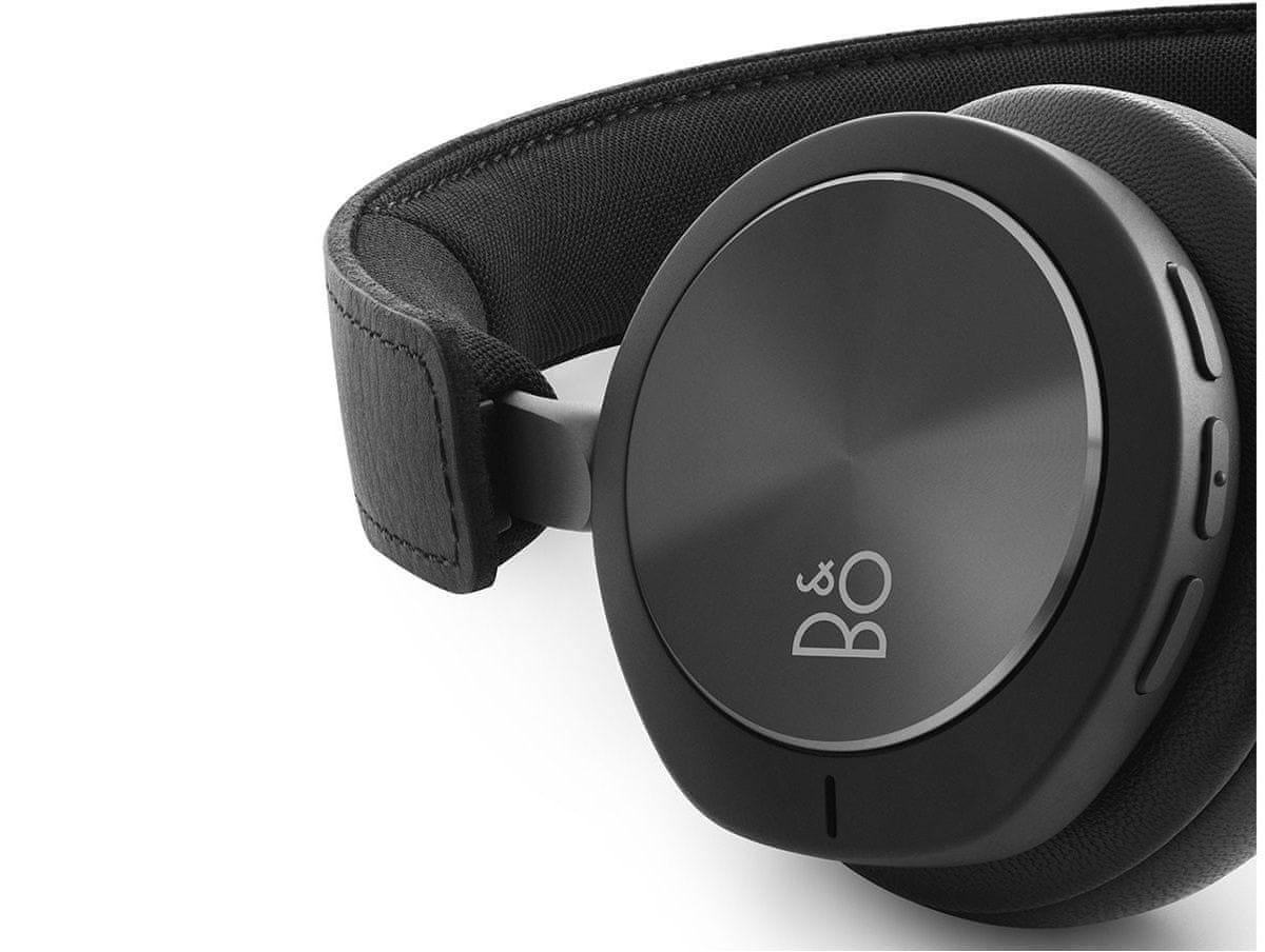 bezdrátová sluchátka B&O Play Beoplay H8i mechanické dotykové rozhraní ovládání na sluchátkách