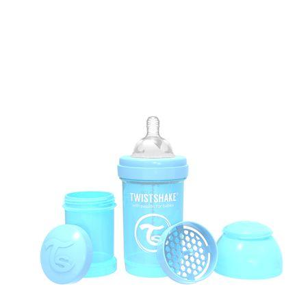 Twistshake Cumisüveg Anti-Colic 260ml, Pasztell Kék