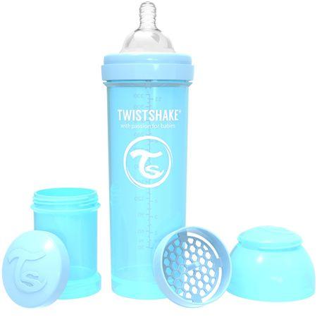 Twistshake Cumisüveg Anti-Colic 330ml, Pasztell Kék