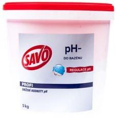 Savo Do Bazénu - pH- snížení hodnoty pH 5 kg
