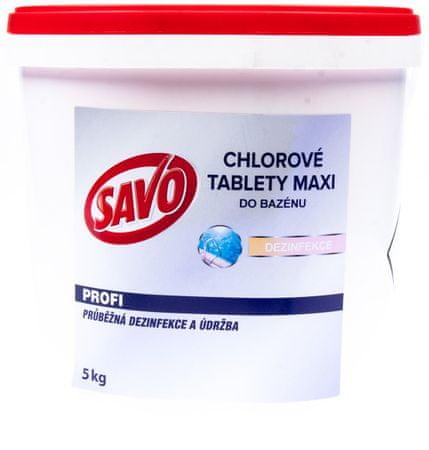 Savo Maxi klórtabletta medencébe 5 kg