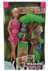 Simba lutka Steffi z družbo živali iz džungle