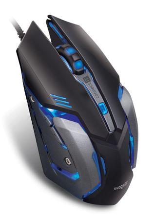 Connect IT EVOGEAR profesjonalna mysz optyczna do grania (CMO-4510-BK)