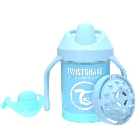 Twistshake otroška steklenica, 230 ml, 4+m, modra