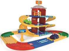 Wader Kid Cars 3D 2-nadstropna garaža, 4,6 m