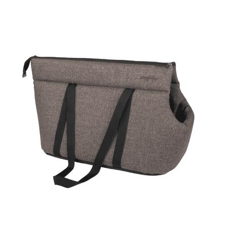 Argi prenosna torba za psa Palermo, poliester, rjava, M