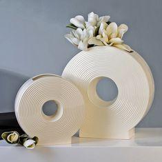 Papillon Váza porcelánová Disc, 25 cm