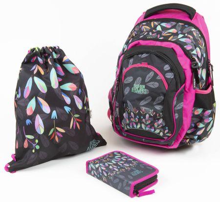 Karton P+P Iskolai készlet OXY Fashion virágcsokros