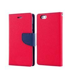 Havana preklopna torbica Fancy Diary za Huawei P20, rdeča/modra