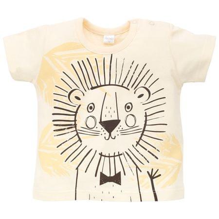 PINOKIO Chlapecké triko Leon 74 žltá