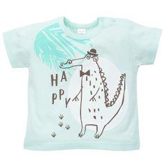 PINOKIO Chlapecké tričko Leon krokodýl