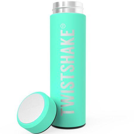 Twistshake termo steklenica Hot or Cold, 420 ml, zelena
