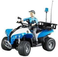 Bruder policijski četverokotač s policajkom 63010