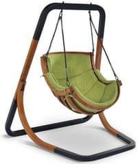 Igotherm TRAPEZOID Wiszące krzesło bujane, zielone