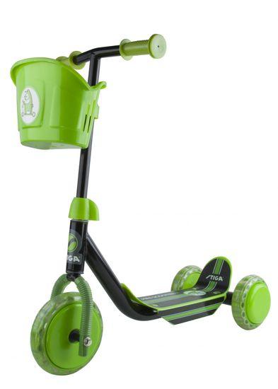 Stiga Dětská koloběžka Mini Kid 3W zelená - rozbalené